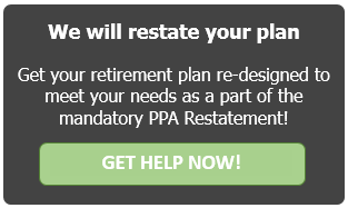 Pension Protection Act (PPA) document restatement FAQs